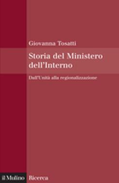 copertina Storia del Ministero dell'Interno