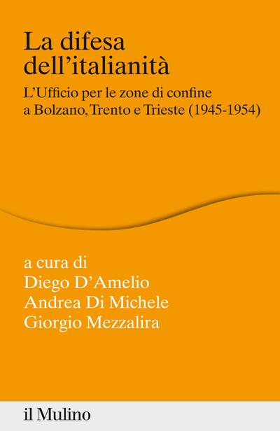 Cover La difesa dell'italianità