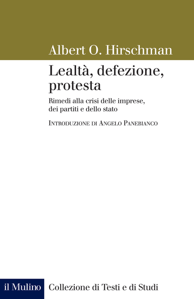 Cover Lealtà, defezione, protesta