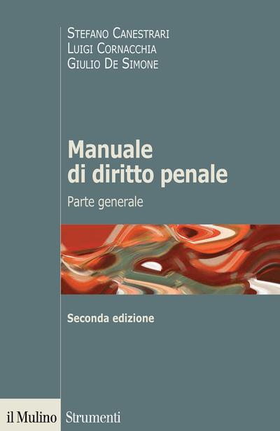 Cover Manuale di diritto penale