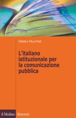copertina L'italiano istituzionale per la comunicazione pubblica